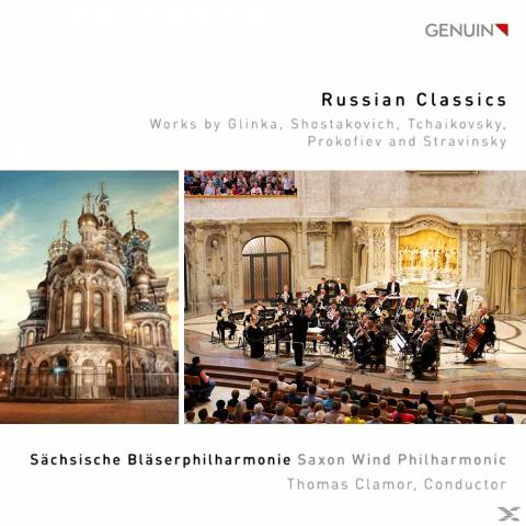 CD Cover, Russian Classics