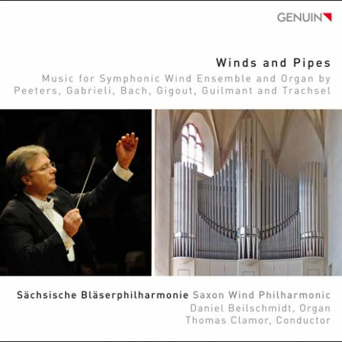 CD Cover, Winds and Pipes
